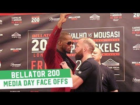 Bellator 200: Media Day Face Offs