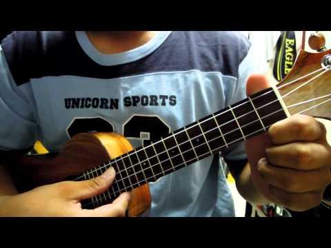 #002 強強麗麗ukulele_生日快樂歌-最簡單的彈奏喔