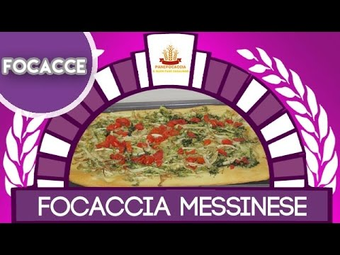 la focaccia messinese in 4 minuti!
