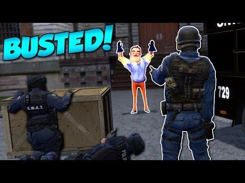 HELLO NEIGHBOR SWAT RESCUE?! - Garry's Mod Gameplay - Gmod Sandbox SWAT Rescue Roleplay (видео)
