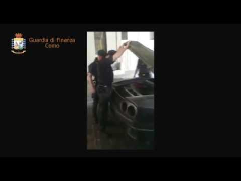 Como: Guardia di Finanza sequestra Ferrari tarocca