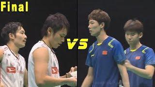 Download Video Takeshi KAMURA Keigo SONODA vs LI Junhui LIU Yuchen  - Badminton Asia Championships 2018 Final MP3 3GP MP4