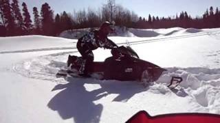 7. Yamaha Apex xtx in the powder