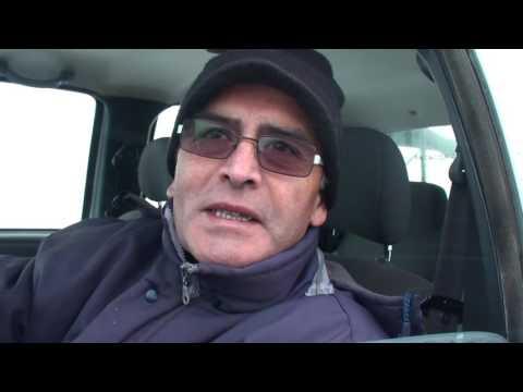 Trabajos de Vialidad Rionegrina por nevadas en la Región Sur
