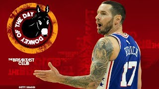 Video Philadelphia 76ers' JJ Redick Slips Racial Slur Into Chinese New Year Video MP3, 3GP, MP4, WEBM, AVI, FLV Mei 2018