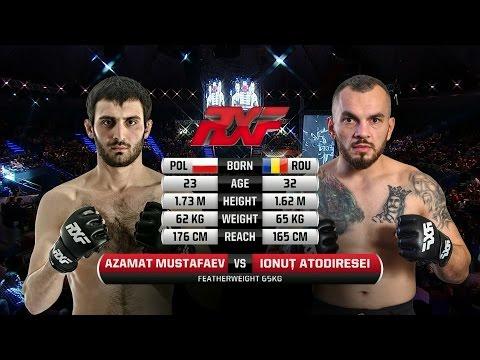 Azamat Mustafaev vs Ionut Atodiresei at RXF 22