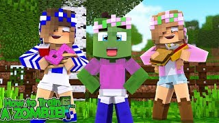 HOW TO TRAIN YOUR ZOMBIE #2  HIDING MY ZOMBIE IN THE CASTLE    Minecraft Little Kelly