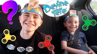 Video VLOG - DESTINATION SURPRISE - DEVINE TÊTE & HAND SPINNERS FREESTYLE en VOITURE MP3, 3GP, MP4, WEBM, AVI, FLV Juli 2017