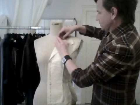notched - Info on my new online fashion course at http://ScandinavianTailoring.com/fashion --- Showing how to use anti-industrial tailoring techniques. Made as a part ...