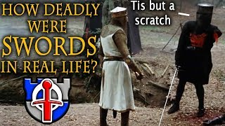 Video How DEADLY were swords in real life? MP3, 3GP, MP4, WEBM, AVI, FLV Januari 2019