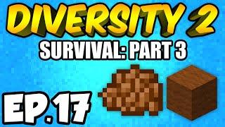 Minecraft: Diversity 2 Ep.17 - SPOOKY LIBRARY!!! (Diversity 2 Survival)