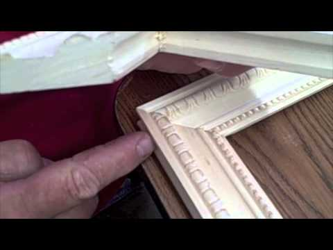 Picture - The picture frames I am building make it possible to exchange the pictures for others. I used picture frame paneling/molding for this project. The design mat...