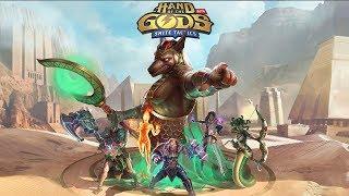 Hand of the Gods: SMITE Tactics теперь доступна в Steam