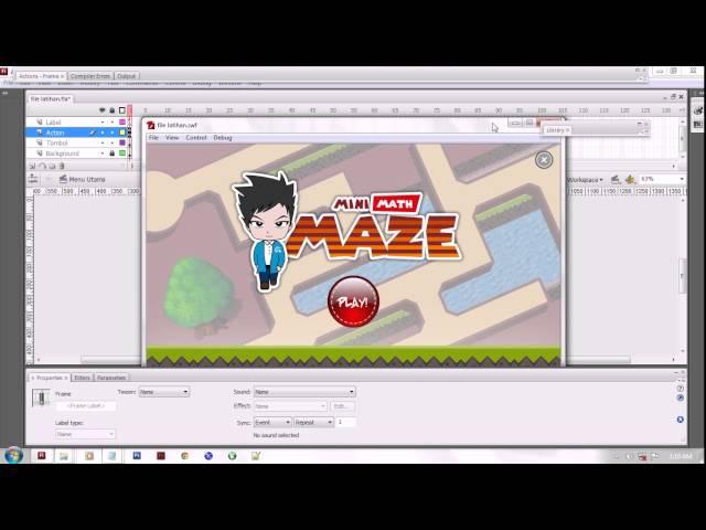 Cara Membuat Game Edukasi Menggunakan Adobe Flash Part 1 ...