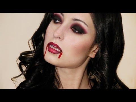 Sexy Vampire Halloween Makeup Look
