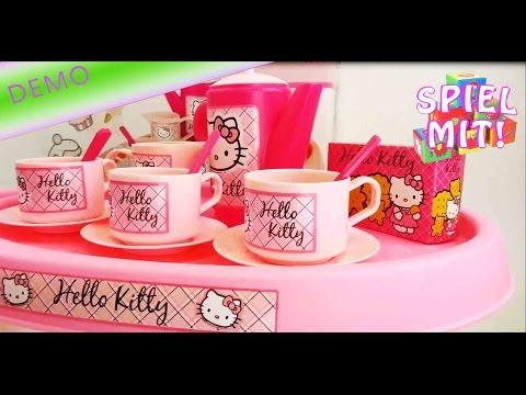 Hello Kitty Servierwagen - unboxing des riesigen Hello Kitty Spielzeug Sets