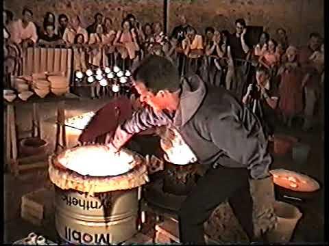 Ceramica Raku a Vasto nel 2002
