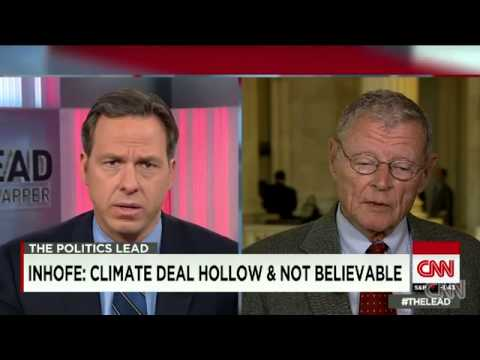 Sen. Inhoff Says Climate Change Is A Conspiracy