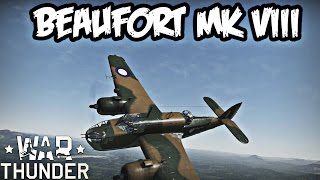 Beaufort Australia  city pictures gallery : War Thunder Squad Gameplay - Beaufort Mk VIII - Realistic Battle -