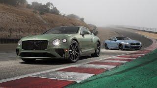 Bentley Continental GT V8 vs. BMW 850i xDrive—2019 BDC Hot Lap Matchup by Motor Trend