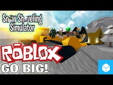 The FGN Crew Plays: ROBLOX - Snow Shoveling Simulator (Revisited)