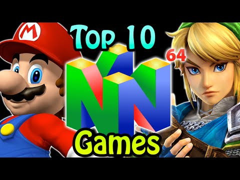 Top 10 Nintendo 64 Games