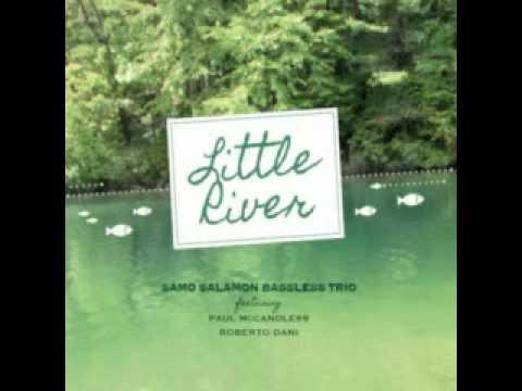 Samo Salamon Bassless Trio feat. Paul McCandless & Roberto Dani: Little River online metal music video by SAMO ŠALAMON