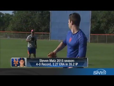 Video: Steven Matz gets ready for 2016