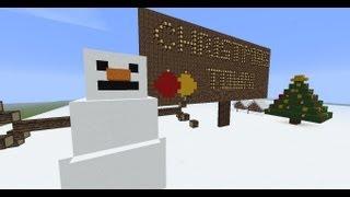 LizzyVille | Minecraft Creative Village | Ep # 12 'Christmas Songs'