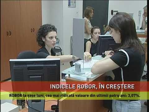 Indicele Robor, în creștere