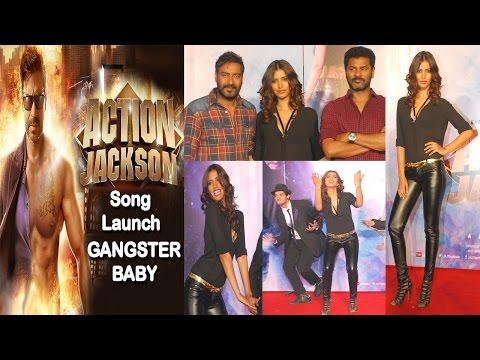 Ajay Devgn, Prabhudeva, Manasvi Mamgai At Song Launch Of Movie Action Jackson