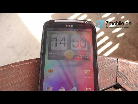 Youtube Video HTC Sensation Freie Ware in black