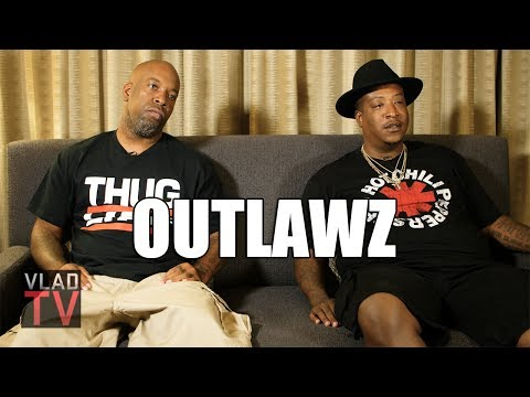 Edi (Outlawz) on Being w/ 2Pac in Vegas, Nobody Having Guns During Shooting (видео)