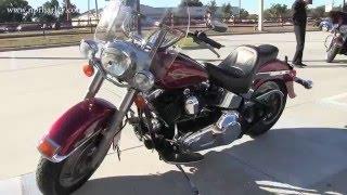 7. 2005 Harley Davidson Heritage Softail Motorcycle