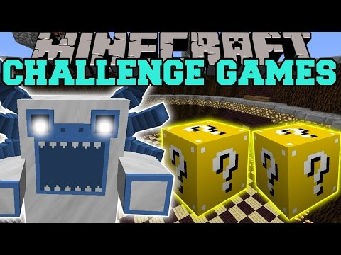 Minecraft: MUTANT YETI CHALLENGE GAMES - Lucky Block Mod - Modded Mini-Game