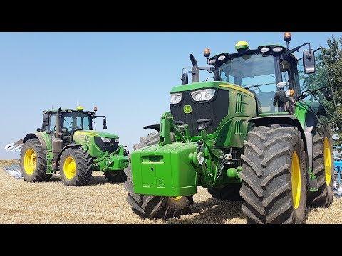Die neuen John Deere 6M Traktoren [Test-Drive in 4K]
