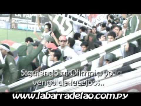 """Tema Nuevo!!! """"..Siguiendo al Olimpia.."""" La Barra De La """"O"""" VS 12 De Octubre  -  - La Barra del Olimpia - Olimpia - Paraguay - América del Sur"""