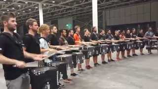 Video Top Secret Drum Corps of Basel meets the Blue Devil Percussion Team of Concorde California MP3, 3GP, MP4, WEBM, AVI, FLV Agustus 2018