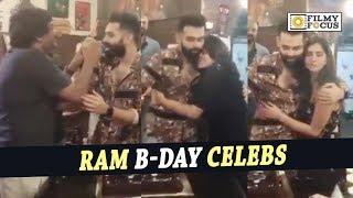 Ram Pothineni Birthday Celebrations with Ismart Shankar Movie Sets - Filmyfocus.com