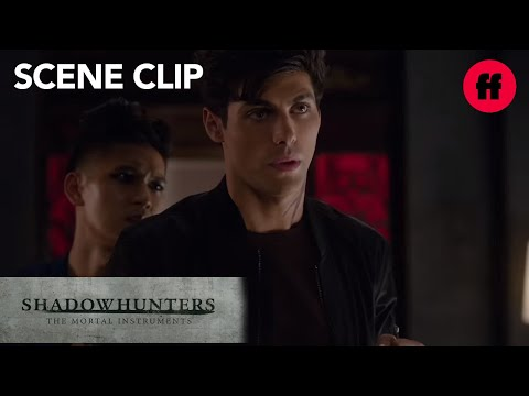 Shadowhunters | Season 1, Episode 12: Magnus Gives Alec Love Advice | Freeform