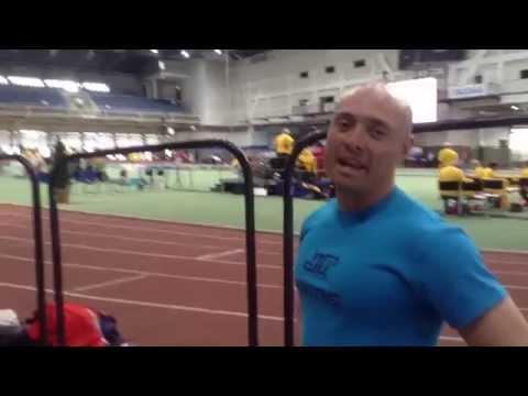 Mundial Bajo Techo de Atletismo en Budapest 2014 con Daniel Medrano
