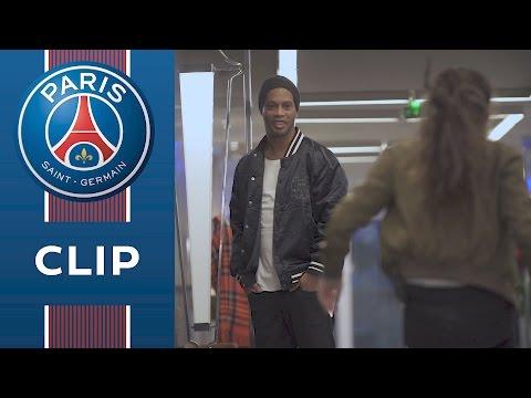 Quand Lisa Freestyle et Paris piègent Ronaldinho