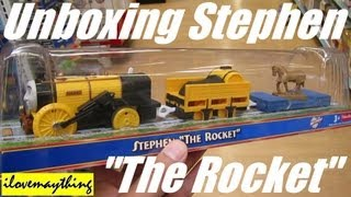 """Unboxing Stephen """"The Rocket"""" - Thomas King of The Railway Trackmaster"""
