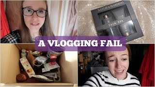 The Weekly Vlog: A Vlogging FailLast vlog: https://youtu.be/GUJjUcH56VYLast main video: https://youtu.be/VD70ZtEJNHEHere's my absolute fail of a vlogging week...but it does include some food and Christmas unboxings! Make sure to subscribe to see what we get up to next week :)Blog: http://georgieminterbrown.blogspot.co.ukFlossy: http://flossyshoes.comSophie Hannah Richardson: http://bit.ly/2fu6UKJPaige Calvert: http://bit.ly/2fLZRAbBBC Good Food Show - 15% off Adult/Over 65s advance super tickets with the code BL15 http://bit.ly/2fN1jQDBig love to The Blogger Programme! https://www.thebloggerprogramme.comI'm Wearing:Cheap Monday jeans http://amzn.to/2erQnubFIND ME ELSEWHERE:Blog: http://georgie-awaywiththefairies.blogspot.co.uk/Facebook: https://www.facebook.com/pages/Away-With-The-Fairies/319156461563847Twitter: @georgie_mbTumblr: http://red-burning-red.tumblr.com/Pinterest: http://www.pinterest.com/georgiemb/Instagram: @georgie_mbSnapchat: georgie-mbEmail: georgiemb@waitrose.comDisclaimer: I have not been paid at all to make this video. All the products mentioned have either been bought with my own cash or have been kindly gifted to me by companies or friends. Any gifted items featured are marked with a *. All opinions are my own.