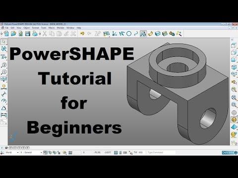 PowerShape Tutorial for Beginners
