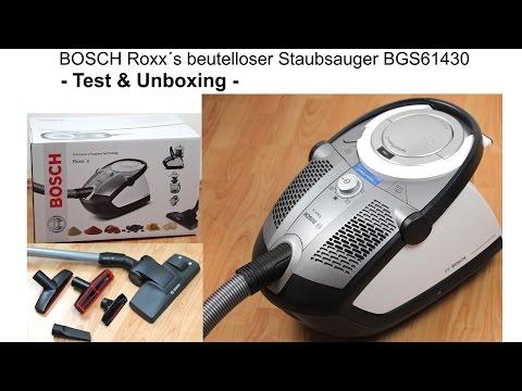 Produkt Test   Bosch Roxx´s beutelloser Staubsauger BGS61430   Unboxing