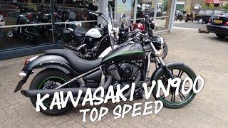 10. Kawasaki VN900 top speed