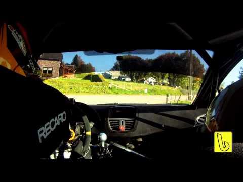 EBR 2010 On Board Peugeot 207 S2000 by b-rally.be & FSV