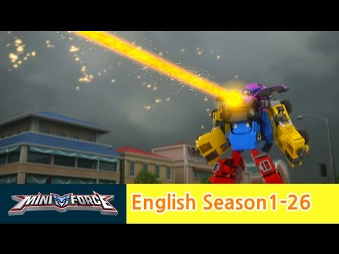 [English ver.dub ]MINIFORCE Season1 Ep26: Invincible Miniforce