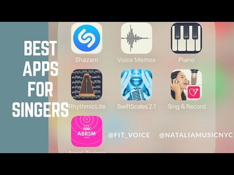 Best Apps For Singers | NATALIA's Online Vocal Studio